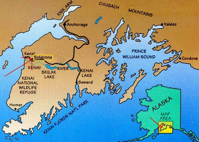 Alaska Location Map